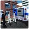 警方运送越狱者
