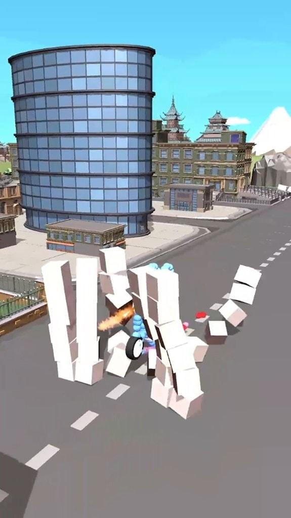 牵引喷气机3D游戏