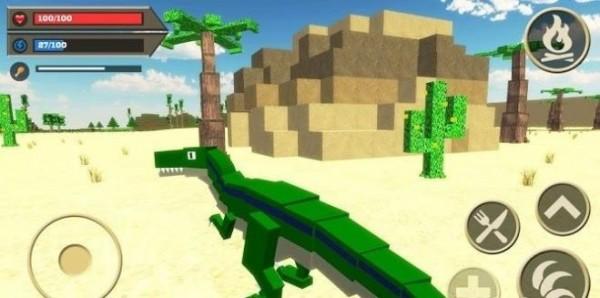 迅猛龙侏罗纪模拟器