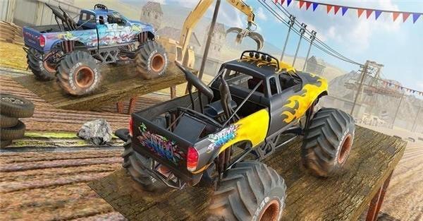 沙漠怪兽卡车赛车特技(图2)